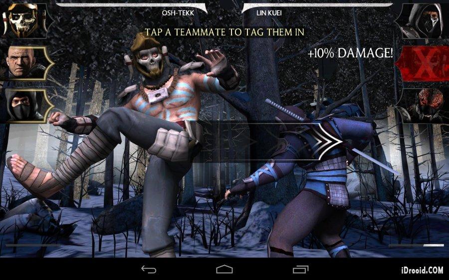 Скачать Mortal Kombat X на Андроид бесплатно